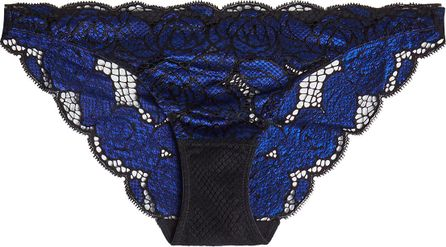 Heidi Klum Intimates Bluebell Whispers Lace Panties