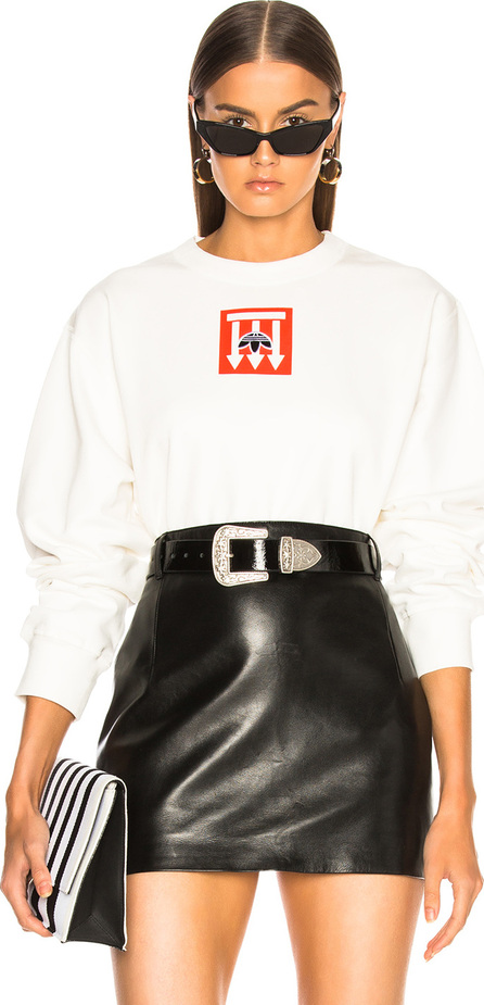 Adidas Originals by Alexander Wang Graphic Crew Sweater