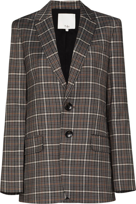Tibi Checked pattern blazer