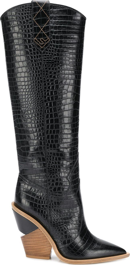 Fendi Cutwalk knee high boots