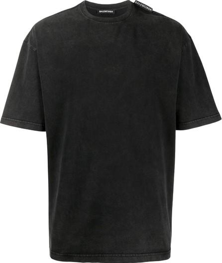 Balenciaga Regular logo tag T-shirt