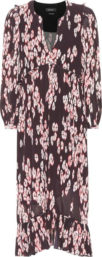 Isabel Marant Wenda printed dress