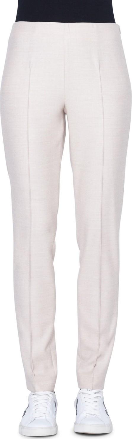 Akris Melissa Stretch Wool Flannel Pants