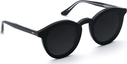 KREWE Collins Round Monochromatic Sunglasses