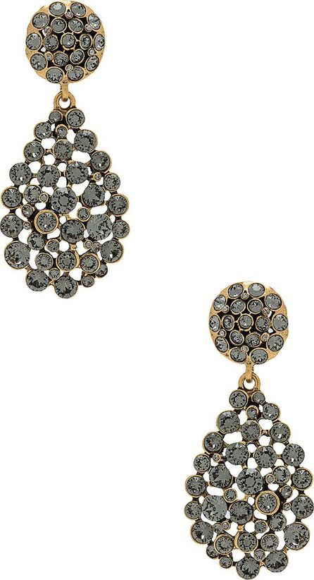 Oscar De La Renta Classic Teardrop Earrings