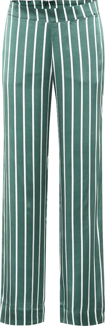 Asceno Silk pajama bottoms