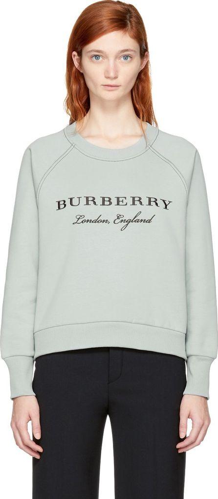 Burberry London England Blue Torto Logo Sweatshirt