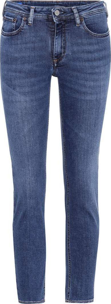 Acne Studios Blå Konst Climb mid-rise jeans