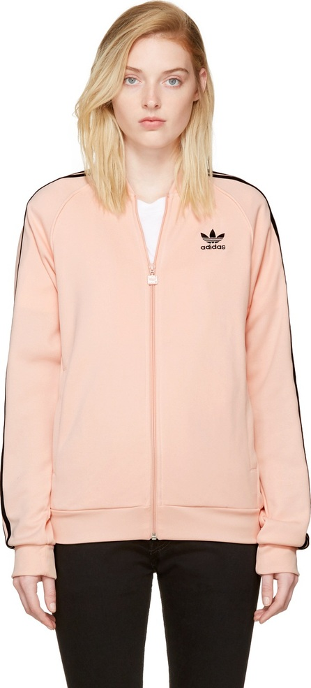 Adidas Originals Pink Superstar Track Jacket