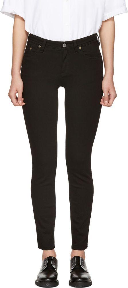Acne Studios Black Climb Jeans