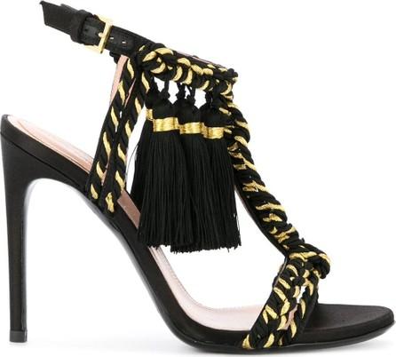 Alberta Ferretti Braided strap sandals
