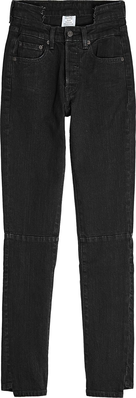 Vetements - Deconstructed Skinny Jeans