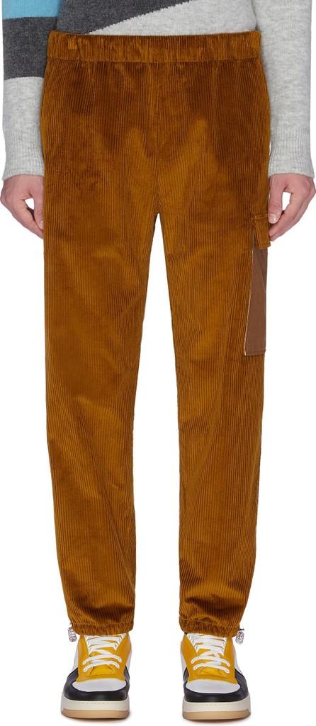 Acne Studios 'Payden' contrast side pocket drawcord cuff corduroy pants