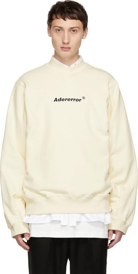 ADER error Off-White A-Neck Sweatshirt