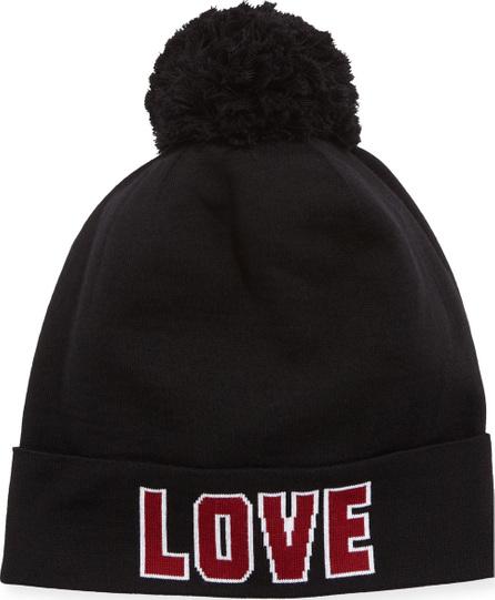 Dolce & Gabbana Love D&G Knit Pompom Beanie Hat