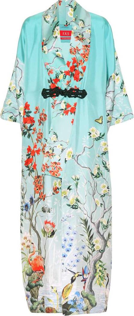 F.R.S For Restless Sleepers Edone silk kimono robe