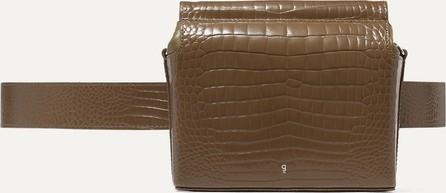 Gu_de Pitch croc-effect leather belt bag