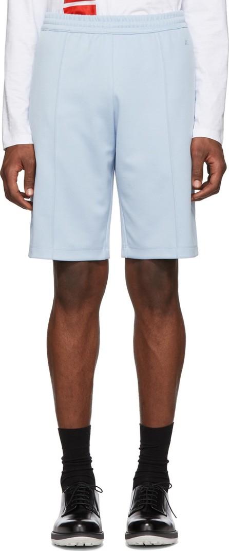 Helmut Lang Blue Side Dart Shorts