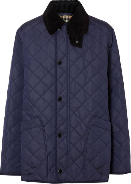 Burberry London England Diamond Quilted Thermoregulated Barn Jacket