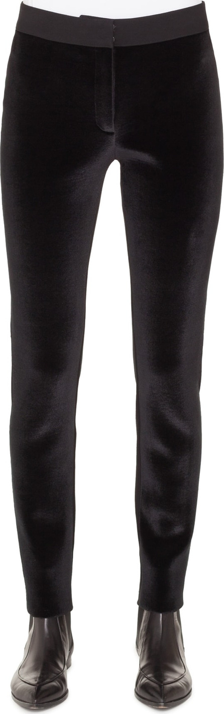 Akris Punto Mara Velvet & Jersey Pants