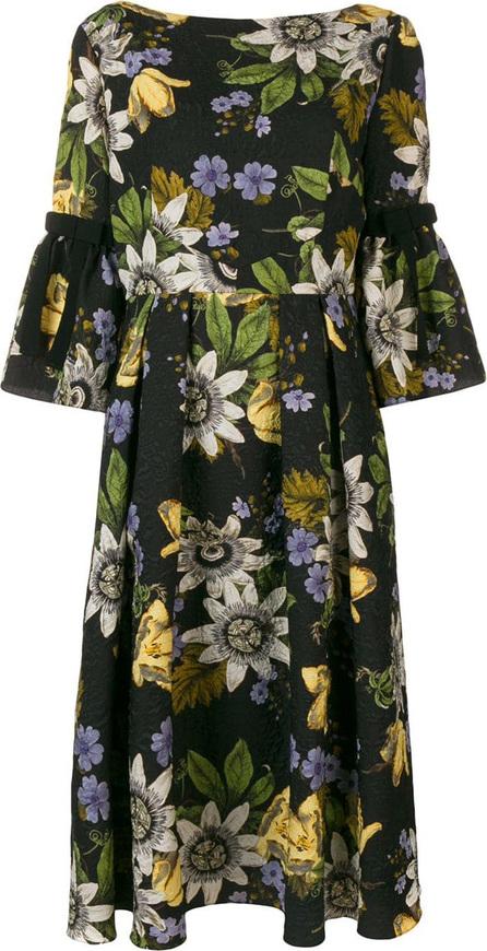 Erdem Floral print midi dress