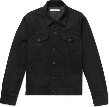 Givenchy Slim-Fit Logo-Embroidered Denim Jacket