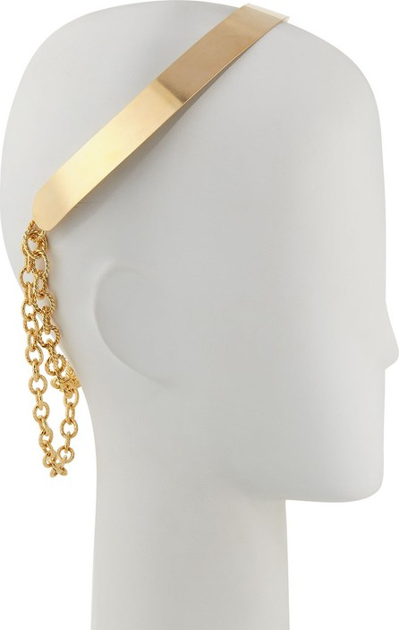 Epona Valley 14K Gold Plated Wide Double Chain Crown
