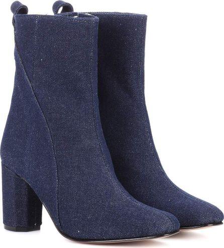 Ganni Joan denim ankle boots