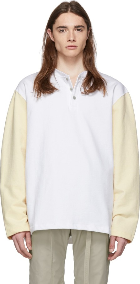 Fear of God White & Beige Long Sleeve Henley