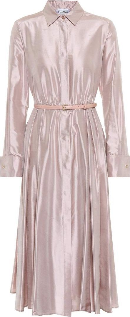 Max Mara Fiorire silk satin dress
