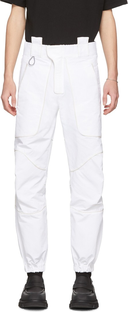 Boramy Viguier White Hiking Trousers