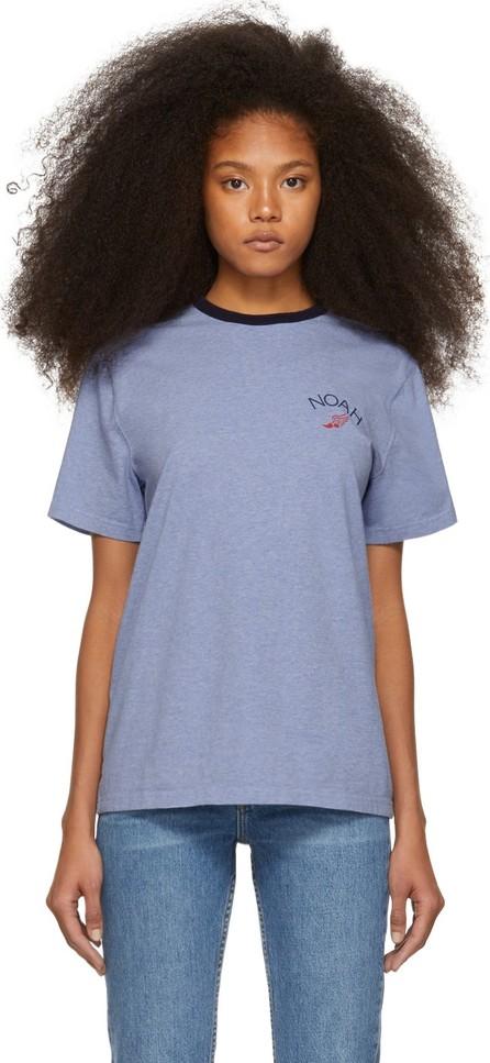 Noah NYC Blue Winged Foot T-Shirt