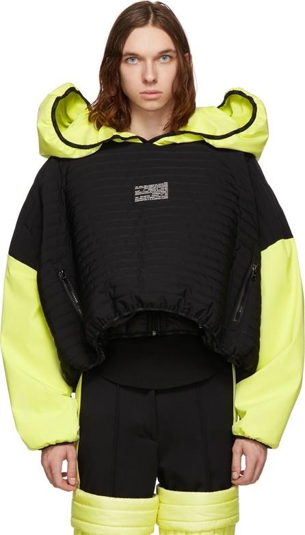 Colmar A.G.E. By Shayne Oliver Yellow & Black Villa Ski Hoodie
