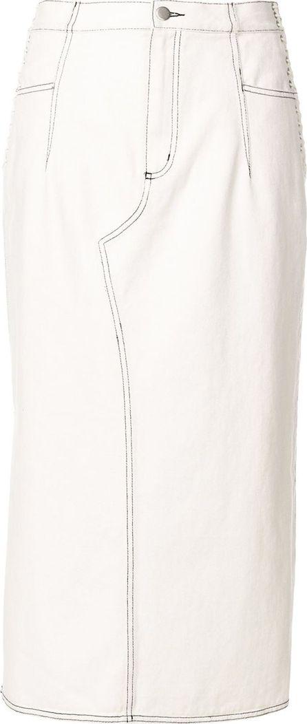 3.1 Phillip Lim lace-up pencil skirt