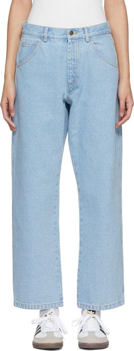 Gosha Rubchinskiy Blue Bleached Jeans