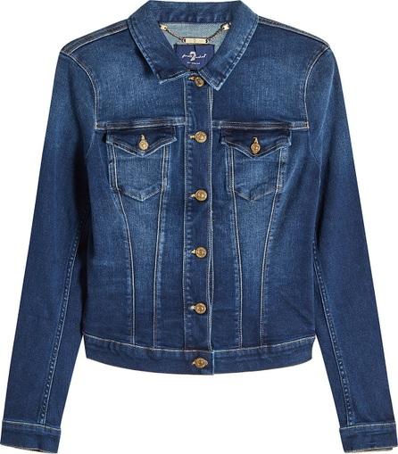 7 For All Mankind Classic Trucker Denim Jacket