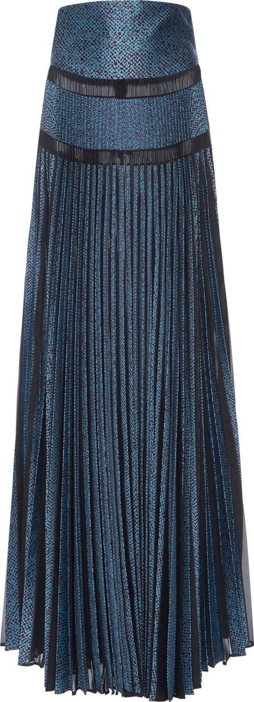 Antonio Berardi Pleated Maxi Skirt