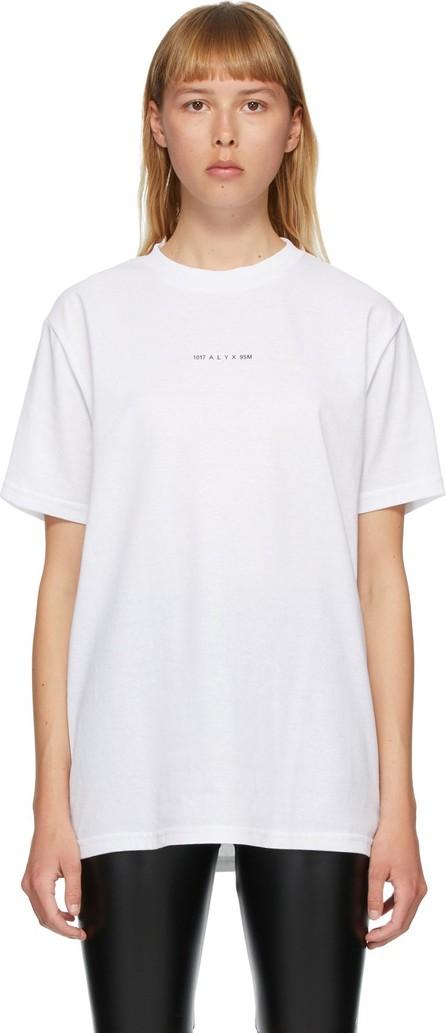 1017 ALYX 9SM White Visual T-Shirt
