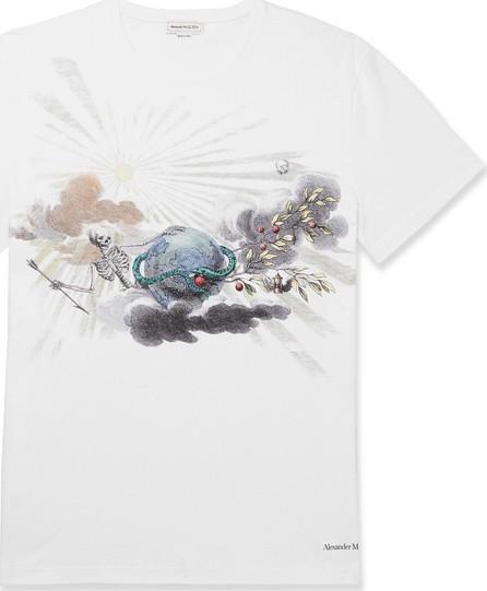 Alexander McQueen Printed Organic Cotton-Jersey T-Shirt