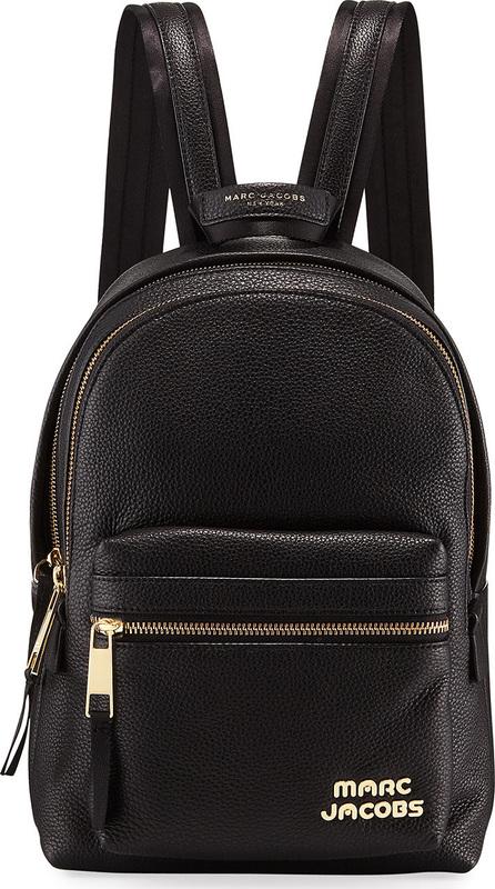 MARC JACOBS Medium Pebbled Leather Backpack