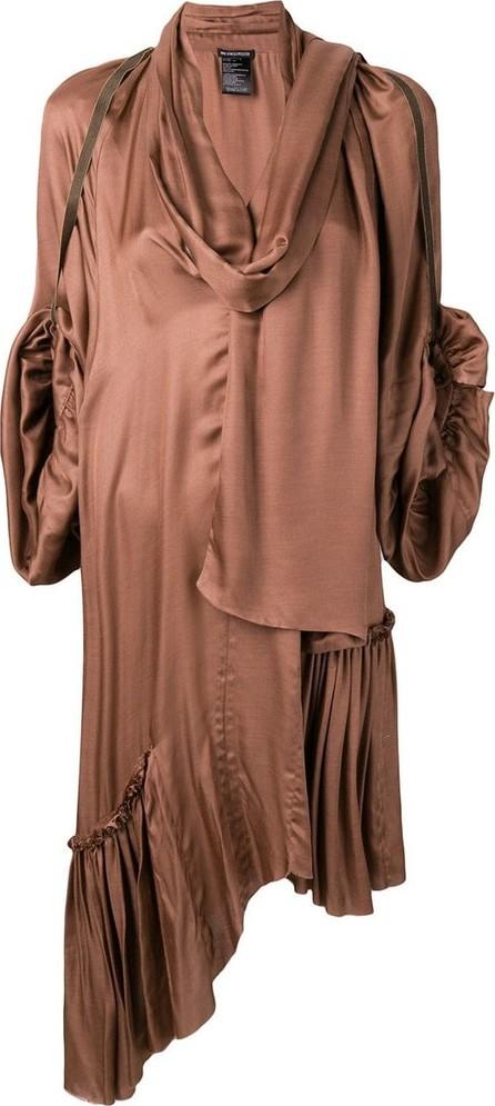 Ann Demeulemeester Draped asymmetric dress