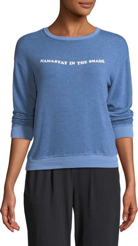 Spiritual Gangster Namastay In The Shade Savasana Crewneck Long-Sleeve Pullover