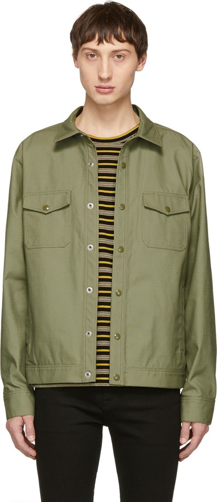 FRAME DENIM Green Work Jacket