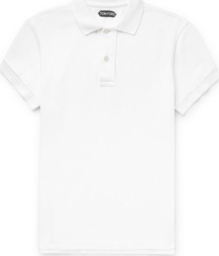TOM FORD Slim-Fit Cotton-Piqué Polo Shirt