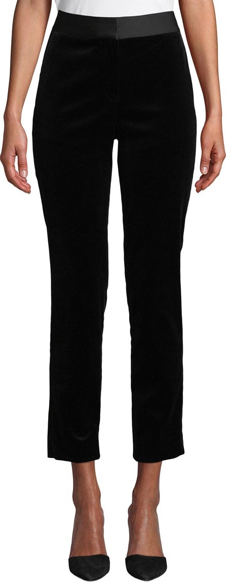 Theory Stretch Velvet Straight Trousers