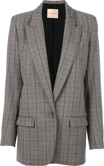 Erika Cavallini checked blazer jacket