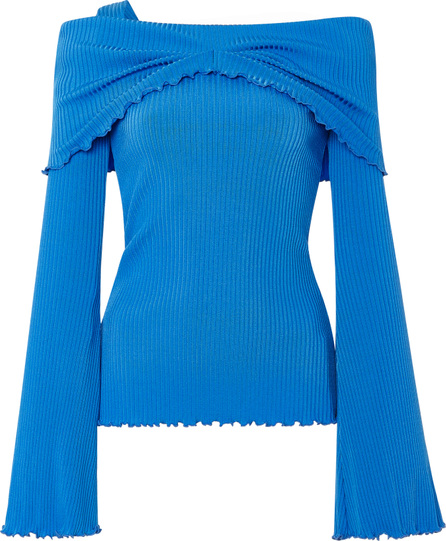 Ellery Limozeen One Shoulder Ribbed Top