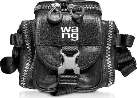 Alexander Wang Black Leather Surplus Camera Bag
