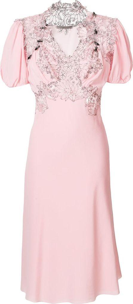 Ermanno Scervino Lace front dress