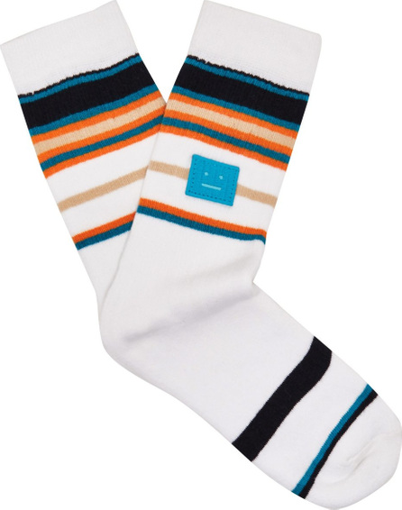 Acne Studios Striped stretch-cotton socks